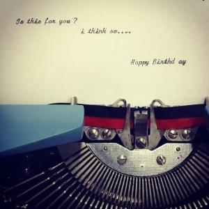 Vintage 1964 Royal Parade Cursive Typewriter