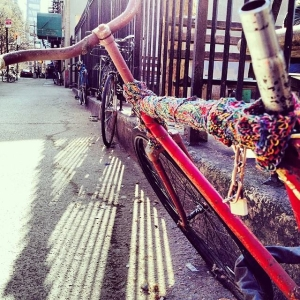 Bike Yarn Bomb